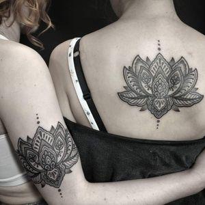 Matching best friend tattoos 🖤