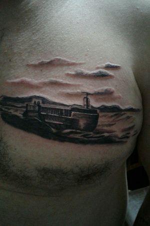 #barco #shige #paisaje