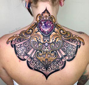 Filigree, Jenstones and skull lace 💎💀 Thank you Laura!!! 💖✨ Made with the best 💎 @inkjecta @stencilforte @oztattskincare @dermalizepro @worldfamousink @killerinktattoo @fytcartridges #devilinthedetail #jennakerr #jenstones #support_good_tattooing #worldfamousink #worldfamous #killerinktattoo #neotraditionaltattoo #tattoo_Artwork #tattoorevuemag #tattoo_art_worldwide #skinart_mag #art #tattooersubmission #jeweltattoo #oztattskincare #neotradeu #inkjecta #strengthisourtrademark #stencilforte #ink_ig #gemstone #gemtattoo #crystaltattoo #henna #lacetattoo #jewelry #dermalizepro #dermalizeproofficial #protectyourart