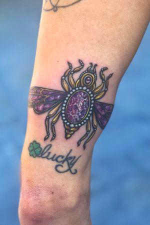Ornamental jewel beetle