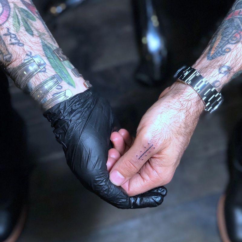 Tattoo from Wahid Echad