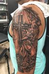 Bng st michael triple coverup angel