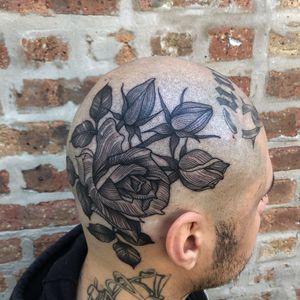 Thank you so much @tattoosbymanga 🖤🌹🖤 @blackoaktattoo #chicago #tattoos #blacktattooing #blacktattooart #222 #tattoodo #everythingwithlove
