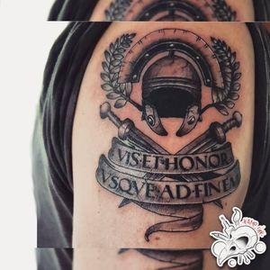 #follow Something Different! ⚡ New Work, Thanks to Antonio 🙏 #draw #drawing #tattoo #tattoos #ink #sketch #sketchbook #logo #picoftheday #likeforlikes #likeforfollow #like4likes #like #followers #helmet #roma #rome #spqr #gladiator #latin #sword #crown #bnw #black #white