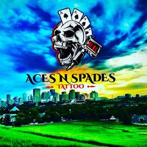 Aces n spades tattoo 9939_63ave Edmonton Alberta