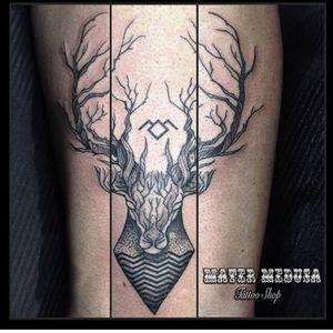 Twin peaks celebration #claudiaducalia #matermedusa #twinpeakstattoo #deartattoo #tattoolifemagazine #Tattoodo #tattoodoambassador