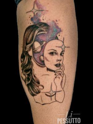 Referência modificada #fineline #tatuagemfeminina #universetattoo #tatuagemdelicada
