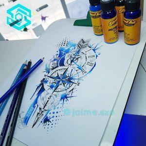 Tattoo by Skyline Studio