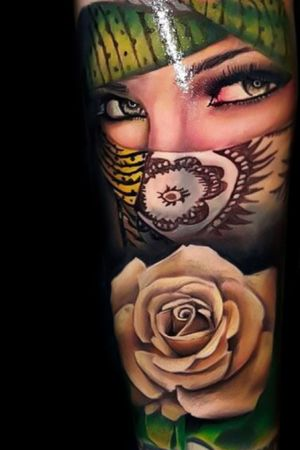 #realistic #Tattoodo #realism #color #ink #inked #nomercy