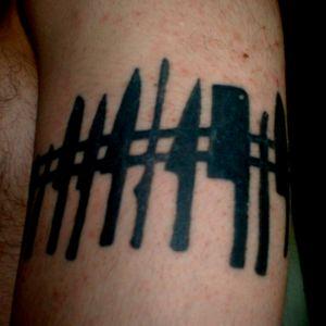 Set de cuchillos Negro