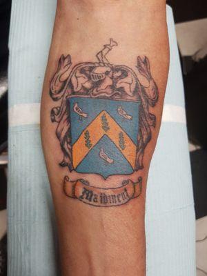 Family Coat Of Arms #coatofarms #coatofarmstattoo #shield
