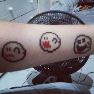 Haunted House Ghosts - Mario Bros.