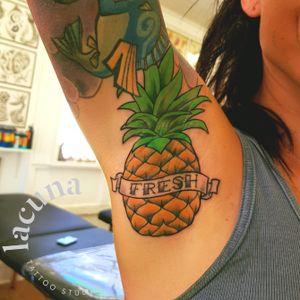 #pineapple #armpit #armpittattoo