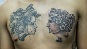 Medusa done by another artist