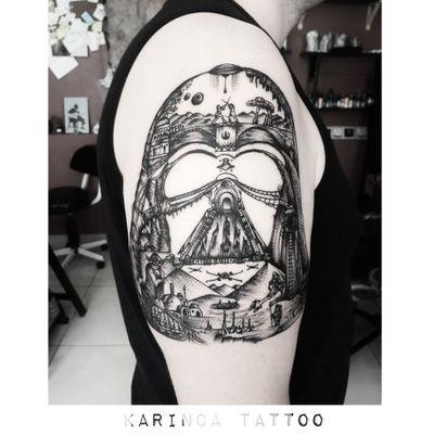 May the dark force be with you Instagram: @karincatattoo #karincatattoo #darthvader #darkforce #starwars #darthvadertattoo #starwarstattoo #starwarssleeve #yoda #jedi #tattooine #tattoo #tattoos #tattoodesign #tattooartist #tattooer #tattoostudio #tattoolove #ink #tattooed #istanbul #turkey #dövme #dövmeci #design