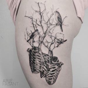 Enjoy making this for you Liesbeth. Next stop Vincent ! #blacktattooart #inkedm #ag #tattrx #TAOT #blackwork #tattooing #ttblackink #iblackwork #blxckink #darkartists #inkstinctsubmission #blacktattoomag #onlyblackart #blackworkers_tattoo #contemporary #tttism #blackworkerssubmission #blackinkmag #tattoosnob #etchtattoo #tattooideas #tattoodo #skeletontattoo #handelsdokkaai