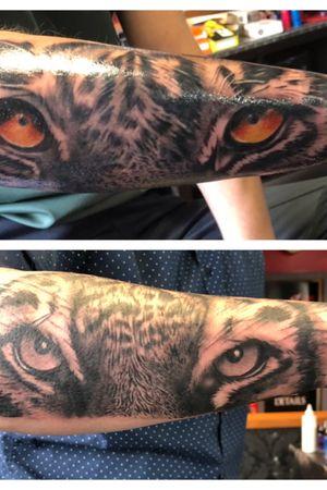 #tigers #tiger #tigereyes #tigertattoo #tattoo #tattoos #huddersfield #uktattoo