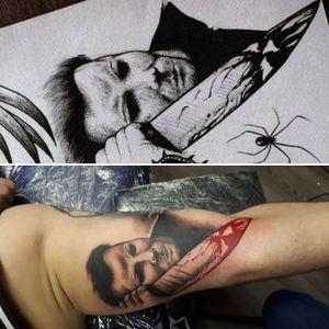 #halloween #classichorror #michaelmyers #inked #tattoo