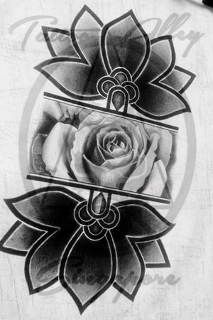 My Sketch My Stylez. In Love with black and gray tone.