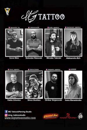 Meet the MG tattoo team - Skopje - Macedonia
