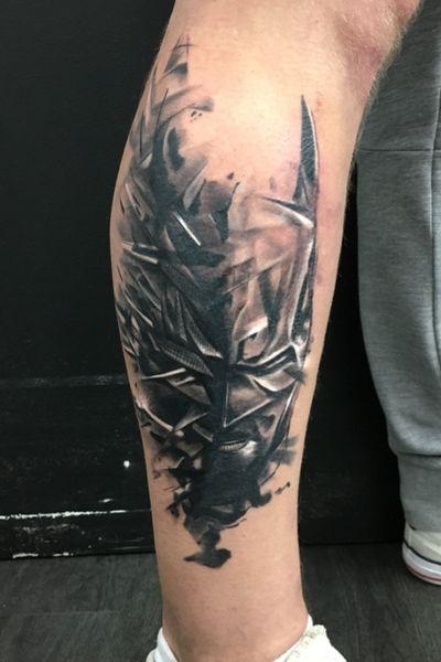 #batman #inprogress #tattooartist #art #ink #worldfamousink