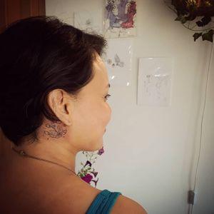 #flower #art #tattoo #tatouage #tatuaje #tatuaggio #тату #aurorabeatriz #luttiink #brazilianartist