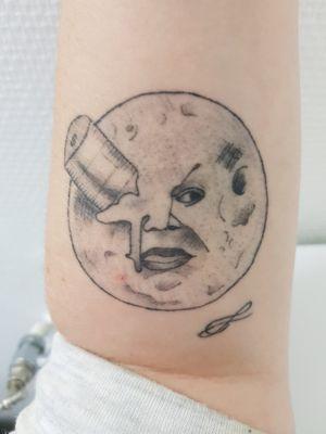 Georges Méliès - Voyage dans la lune Style gravure