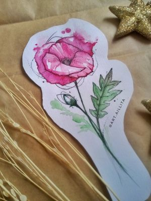 #sketch #sketching #poppies #poppytattoo #poppy #poppysketches #watercolor #watercolortattoo