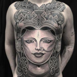 Tattoo by Jondix #Jondix #blackandgrey #portrait #ornamental #bodysuit #shiva #unelome #lotus #flower #floral #hindu #fire #tattoodomission #tattoodovision #tattoodo #tattoodoapp