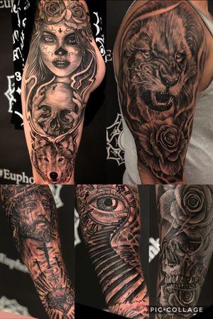 #blackandgrey #tattoos #tattooideas #kevinibanez Follow my IG for more. @kevinibanezink