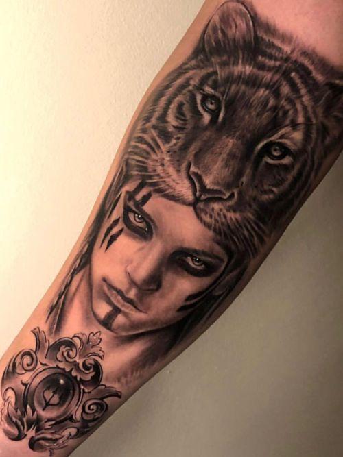@claytattoos  #blackandgrey#inked#greekmythology#sleevetattoo#claytattoos#tattoos