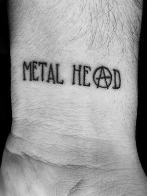 Metalhead... Anarchy