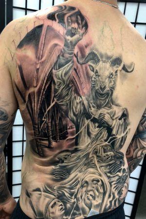 Goat Devil preacher dude