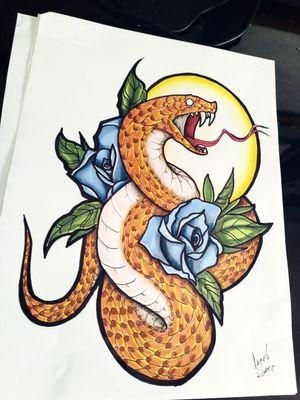 #tattoodrawing #sanke