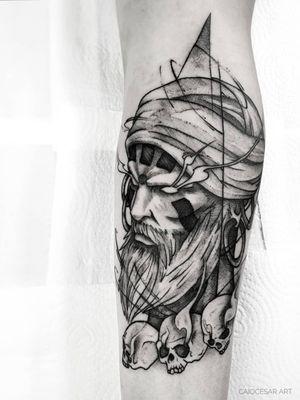 Dhalsim!! . . #inkwell #picoftheday #instaart #art #blacktattooartists #artista #tattooartists #blackwork #geek #blacktattoo #blackworkerssubmission #blackandwhite #blacktattooart #blacktattooartists #tattoo #tattooistartmag #tatuagemsp #tattooist #streetfighter #tattooinkspiration #tattooink #equilattera #tattoo2me #tattooink #dhalsim #tattoosp #btattooing #geektattoo #blxckwork #tatuagem
