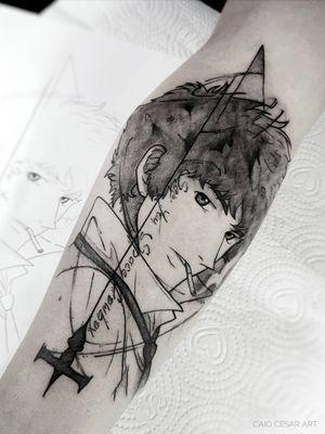 Spike !! . . . #inkwell #picoftheday #instaart #art #blacktattooartists #artista #tattooartists #blackwork #geek #blacktattoo #blackworkerssubmission #blackandwhite #blacktattooart #blacktattooartists #tattoo #tattooistartmag #tatuagemsp #tattooist #streetfighter #tattooinkspiration #tattooink #equilattera #tattoo2me #tattooink #dhalsim #tattoosp #btattooing #geektattoo #blxckwork #tatuagem