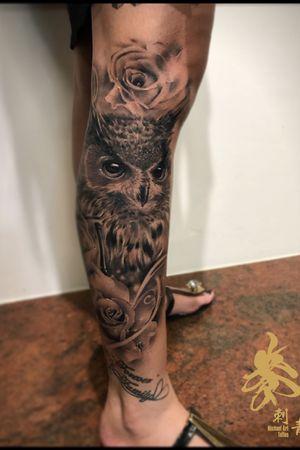 #貓頭鷹 #復原照 #owl #刺青 #台中刺青 #tattoo  #tattooer #tattooist #art #ink #inked #art #artist #紋身 #紋身師 #台中刺青師 #tattoowork #tattooworkers #tattooworker #tattooart #supportgoodtattoos #support_good_tattoos #supportgoodtattooing  #麥刺青 #irezumi #toptattooartist #tattoooftheday #besttattoooftheday #素描 #素描刺青 #sketch #sketchtattoo #realism tattoo #realism