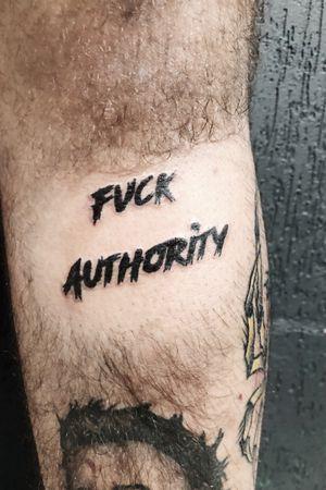 Fuck authority