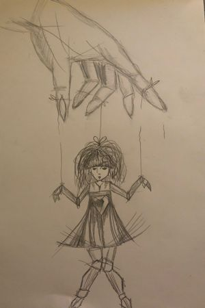 #skretch #drawing #doll