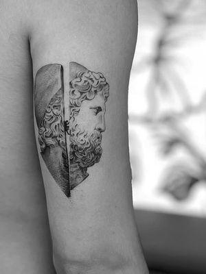 Greek mythology #greek #mythology #sculpture #blackandgrey
