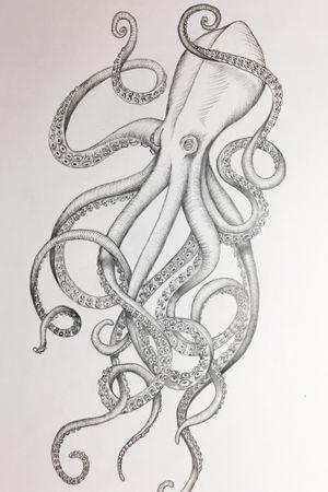 #octopus #sketch