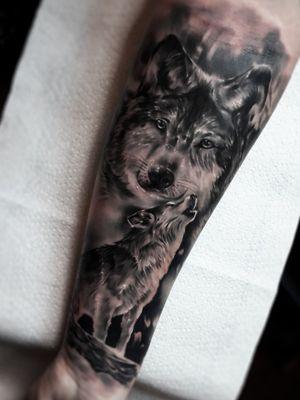 #wolf #wolftatto #animaltattoo #realistic
