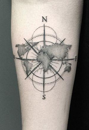 #geometric #geometrictattoo #dotwork #dotworktattoo #lines #fineline #blackwork #new #thebesttattooartists #abstract #abstracttattoo #Tattoodo #TattoodoApp #detail #blackworktattoo #finelinetattoo #ideas #ink #inkaddict #newyork #toronto #vilnius #design #sketch #tattooflash #tattoodesign #newidea #world #worldmap #compass #compasstattoo