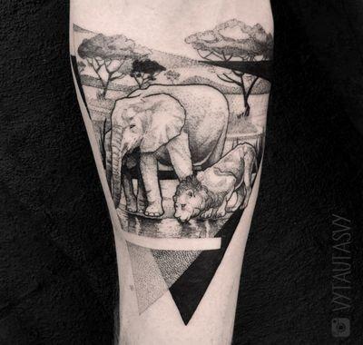 #geometric #geometrictattoo #dotwork #dotworktattoo #lines #fineline #blackwork #new #thebesttattooartists #abstract #abstracttattoo #Tattoodo #TattoodoApp #detail #blackworktattoo #finelinetattoo #ideas #ink #inkaddict #newyork #toronto #vilnius #design #sketch #tattooflash #tattoodesign #newidea #vytautasvy #animal #animals #elephants #elephant #lion #liontattoo #abstract #abstracttattoo