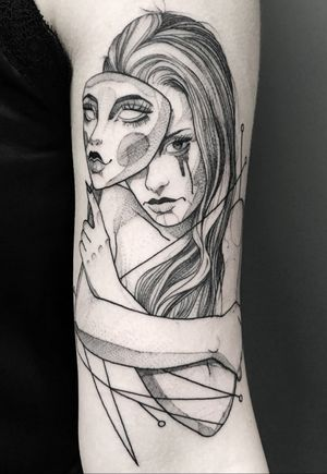 #geometric #geometrictattoo #dotwork #dotworktattoo #lines #fineline #blackwork #new #thebesttattooartists #abstract #abstracttattoo #Tattoodo #TattoodoApp #detail #blackworktattoo #finelinetattoo #ideas #ink #inkaddict #newyork #toronto #vilnius #design #sketch #tattooflash #tattoodesign #newidea #vytautasvy #abstract #abstracttattoo #mask #female #portait