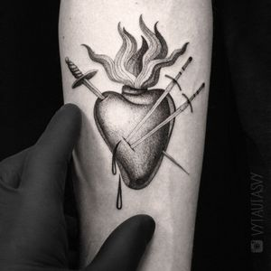 #geometric #geometrictattoo #dotwork #dotworktattoo #lines #fineline #blackwork #new #thebesttattooartists #abstract #abstracttattoo #Tattoodo #TattoodoApp #detail #blackworktattoo #finelinetattoo #ideas #ink #inkaddict #newyork #toronto #vilnius #design #sketch #tattooflash #tattoodesign #newidea #vytautasvy #sacredheart #heart #forearm #singleneedle #singleneedletattoo #swords #love #loveit