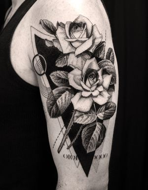 #geometric #geometrictattoo #dotwork #dotworktattoo #lines #fineline #blackwork #new #thebesttattooartists #abstract #abstracttattoo #Tattoodo #TattoodoApp #detail #blackworktattoo #finelinetattoo #ideas #ink #inkaddict #newyork #toronto #vilnius #design #sketch #tattooflash #tattoodesign #newidea #vytautasvy #roses #rosestattoo