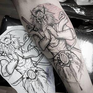 Warrior  #tattooed #tattoo2me #tattooaddicted #tattoomag #tattoo #blacktattoo #arthoftheday #photooftheday