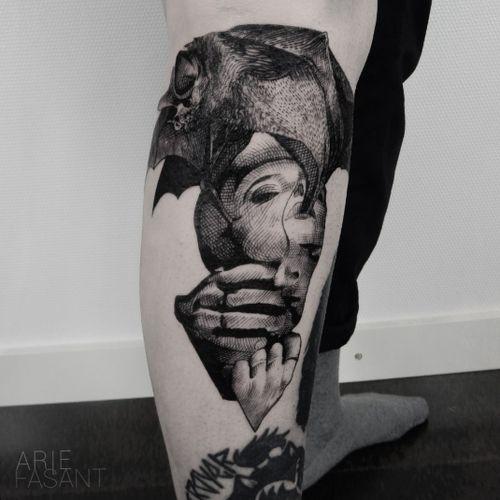 very cool, i got to tattoo the beautiful@monsteralphabet definitely go and check her work ! #blacktattooart#inkedm#ag#tattrx#TAOT#blackwork#tattooing#ttblackink#iblackwork#blxckink#darkartists#inkstinctsubmission#blacktattoomag#onlyblackart#blackworkers_tattoo#contemporary#tttism#blackworkerssubmission#blackinkmag#tattoosnob#bat#battattoo#handelsdokkaai@handelsdokkaai@punctumtattoostudio#tattoodo#typeonegative#blackno1