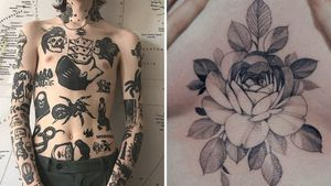 Tattoo on the left by Andrei Ylita aka ylitenzo and tattoo on the right by Zihwa #Zihwa #AndreiYlita #ylitenzo #torsotattoos #torso